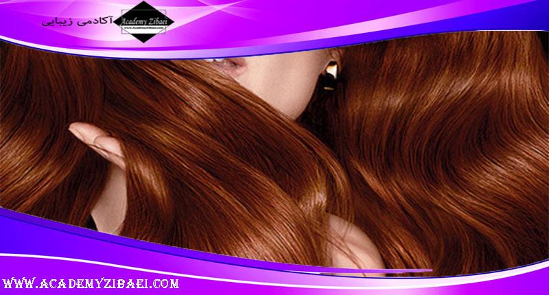 آموزش رنگ کردن موها با حنا و قهوه