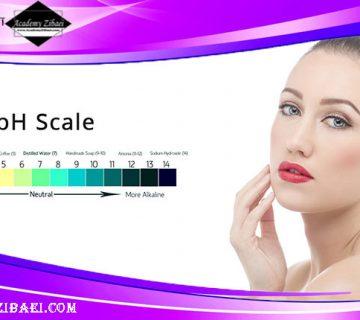 ارتباط pH پوست با جوانی پوست
