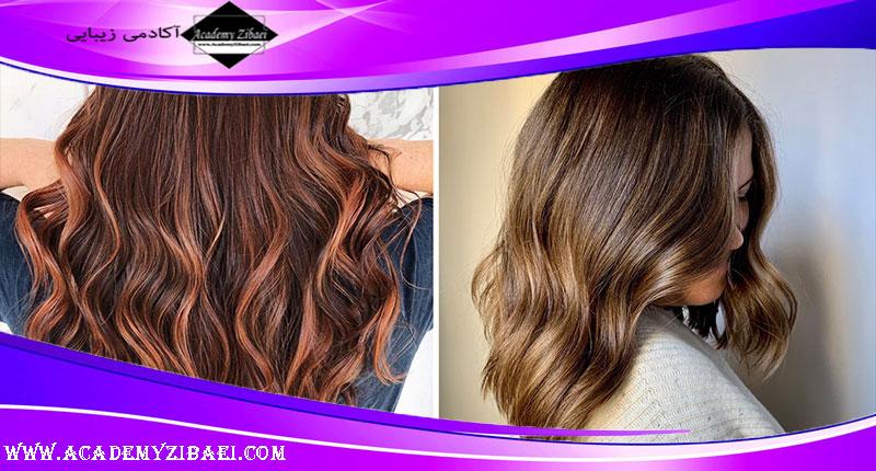 تاثیرات رنگ موی بدون آمونیاک برای مو