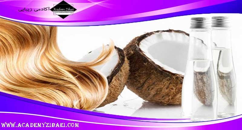 تاثیرات روغن نارگیل در سلامت مو