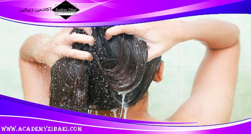 تاثیر آب سخت در سلامت مو