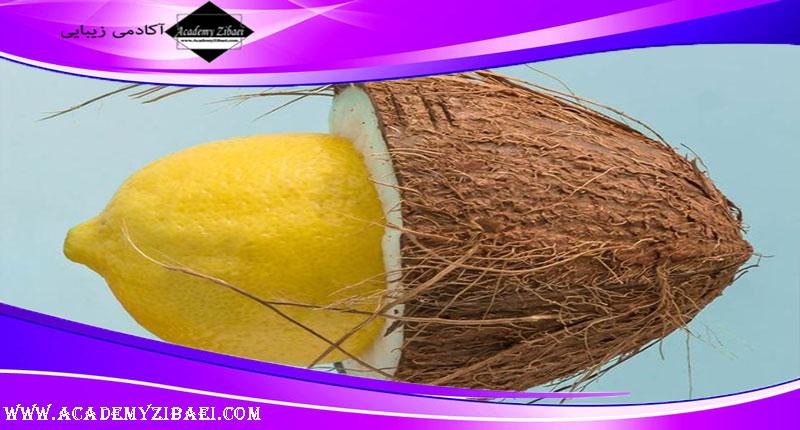 تاثیر روغن نارگیل و آبلیمو در رشد مو