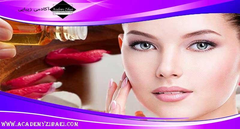 نحوه استفاده از گلاب برای خشکی پوست