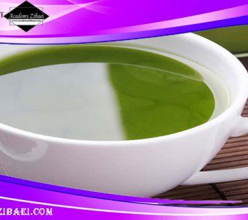 روش تهیه ماسک صورت از چای سبز