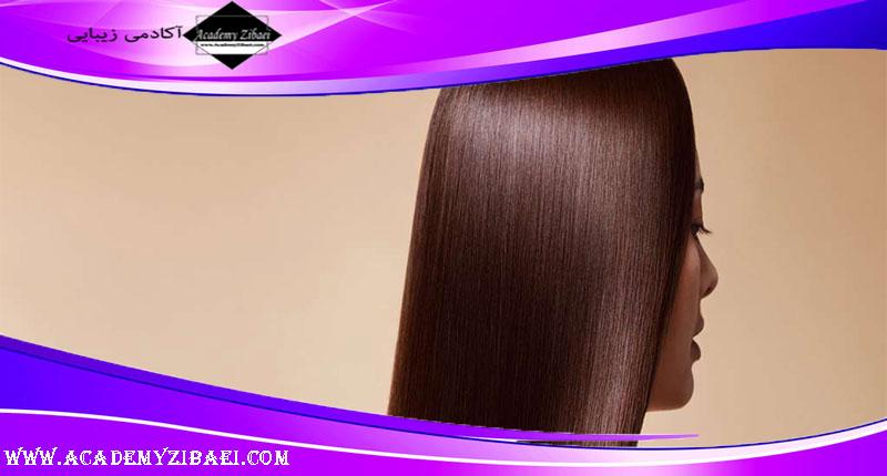 روش های دستیابی به موهای لخت و صاف