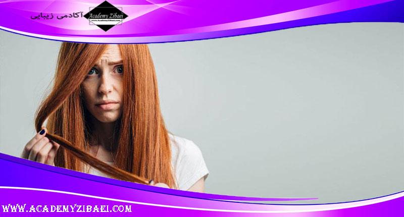 روش های مراقبت از موهای آسیب دیده