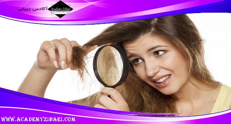 عواملی که باعث آسیب دیدن مو می شود