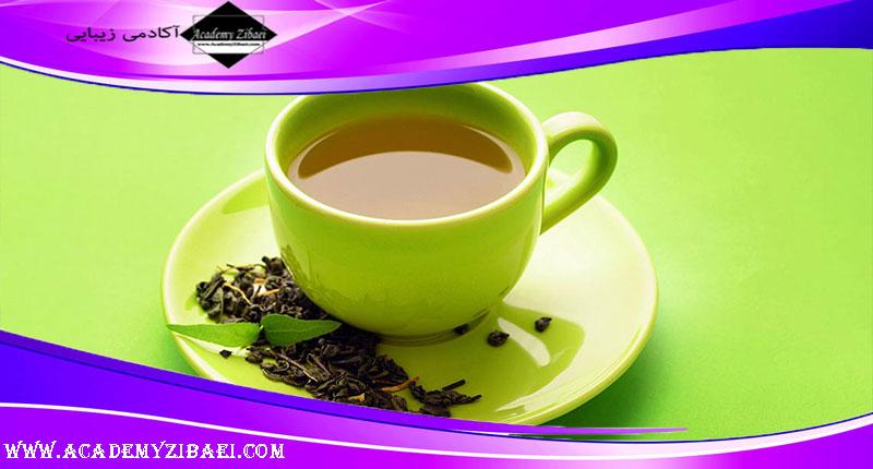 فواید شگفت انگیز چای سبز در جوان سازی صورت