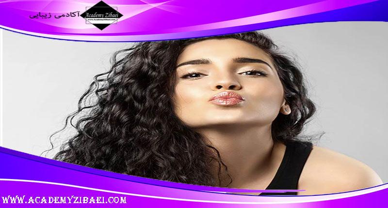 مدل موی دخترانه برای مو های مجعد