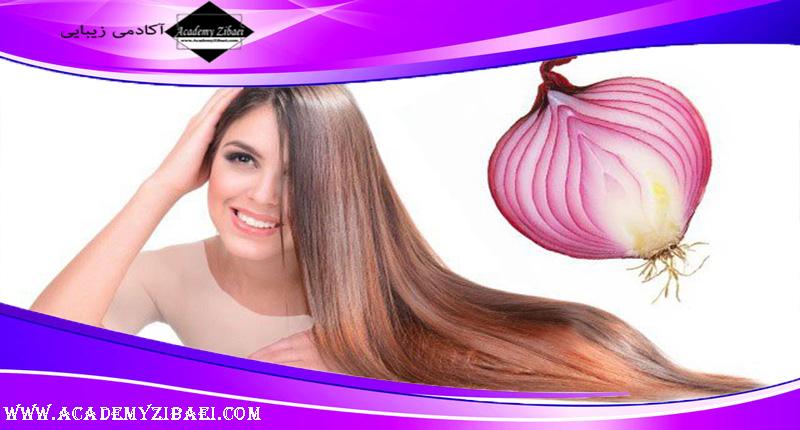 نحوه استفاده از آب پیاز برای رشد مو