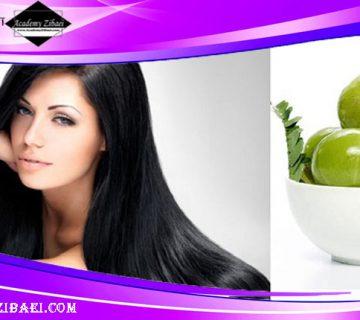 نحوه استفاده از آملا برای تقویت مو