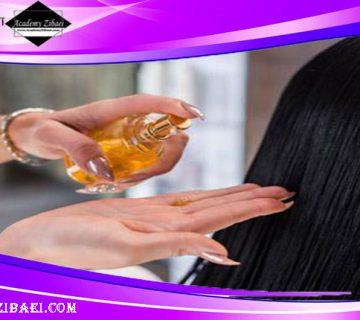 نحوه استفاده از روغن آرگان برای شفافیت مو