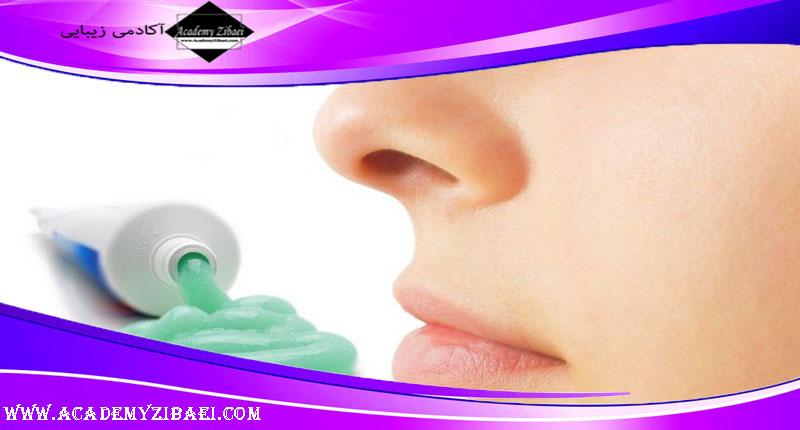 نحوه تهیه ماسک خمیر دندان برای درمان آکنه