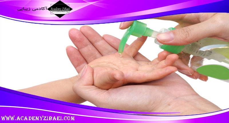 نحوه تهیه ژل ضدعفونی کننده محافظ پوست