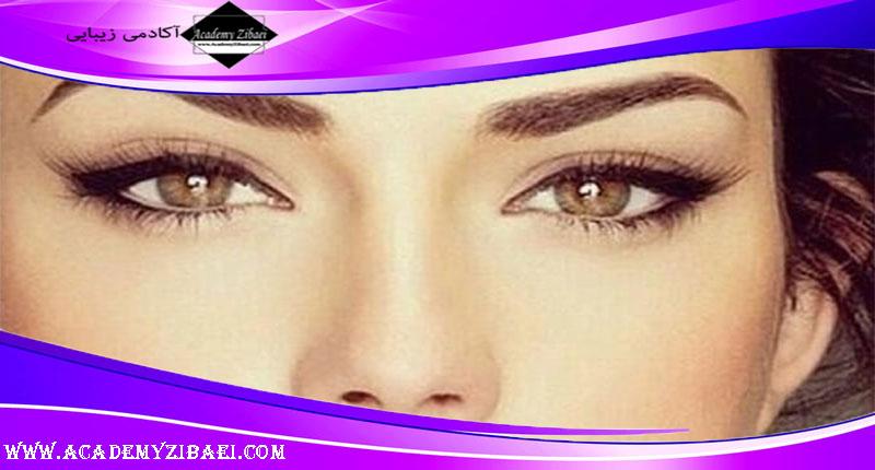 نکات اصلی آرایشی برای چشم های قهوه ای