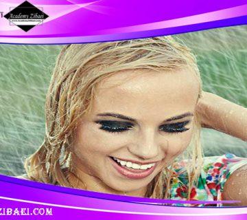 نکات مراقبت از موهای خیس شده زیر باران 🌧