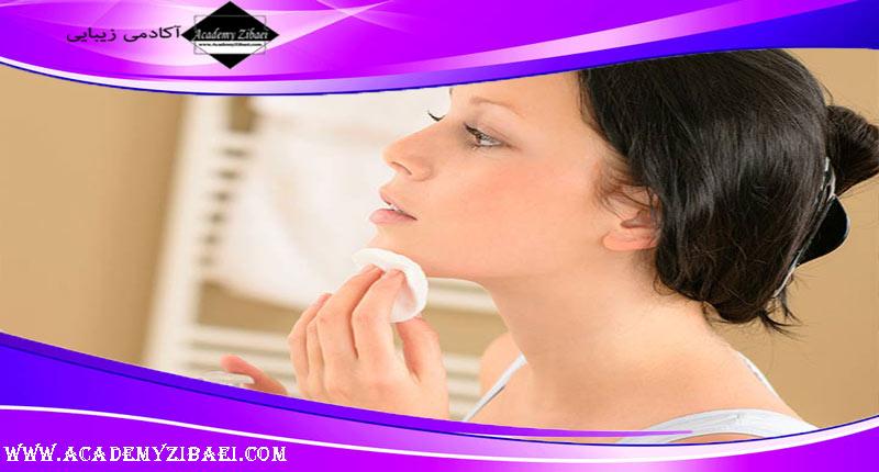 پاک کردن آرایش به کمک روغن جوجوبا
