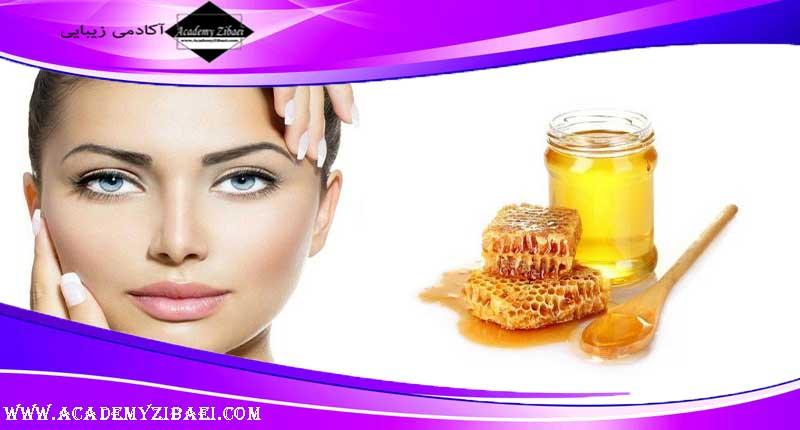 تاثیر عسل برای داشتن پوست درخشان