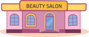 کاربرد وبسایت برای سالنهای زیبایی