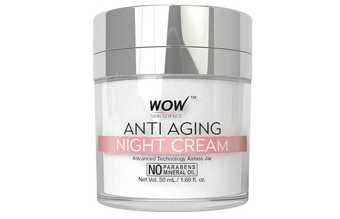 کرم مرطوب کننده و جوان کننده شب Wow Skin Science
