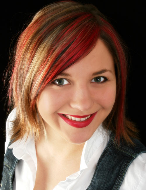 رنگ موی قرمز کلاسیک