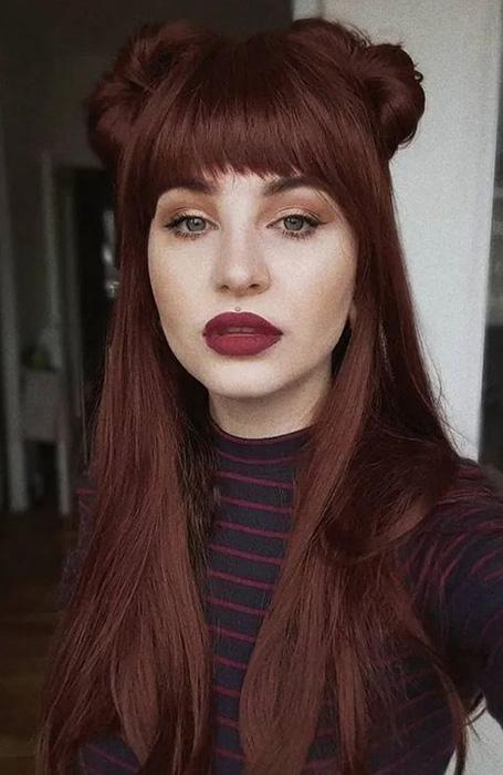 انواع رنگ موی قرمز سال 2020 رونمایی شد
