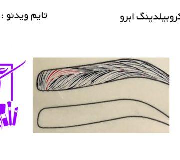 آموزش میکروبیلدینگ ابرو
